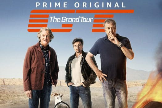 logo the grand tour - voix off de richard hammond